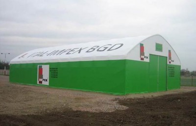 Fabric structures make great bill boards