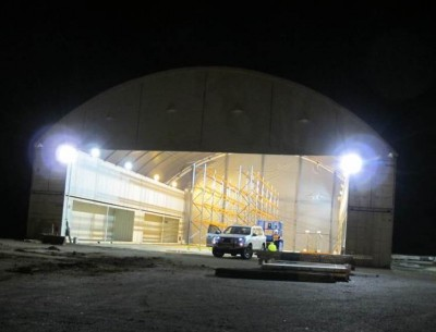 Internal and external flood lighting