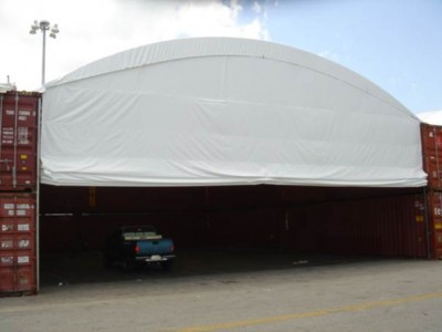 Another option for doors for fabric structures.