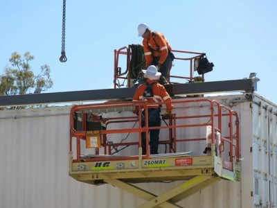 Installations require full access for the Elevated Work Platforms + stable level ground to work on.