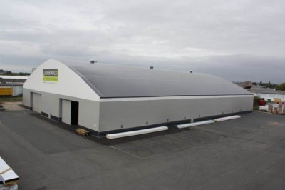 Fabric structures are the economical warehousing solution.