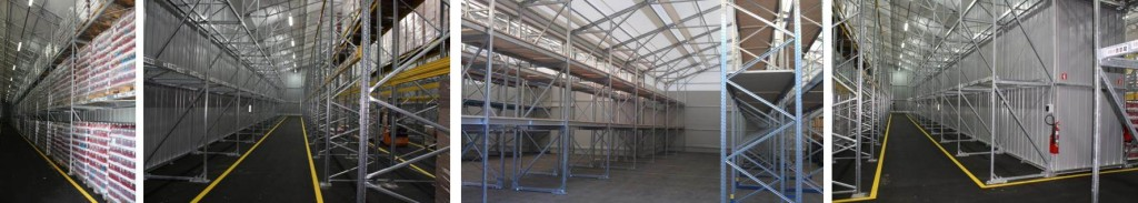 Warehouses with inbuilt pallet racking slash your capital costs.