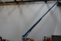 Aircraft painting bays - 60m section
