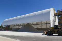 Building covering product at Talison Lithium mine WA