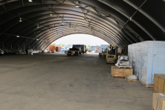 Dome shelter Mount Isa internal view