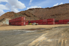 Containers installed a Mount Isa Mines