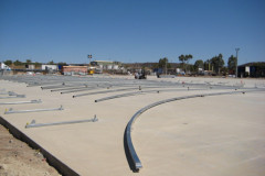 Laying out for a 26mW x 56mL Toll Mount Isa