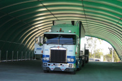 A 15m x 40m fabric structure at Anglo Coal