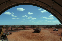 Fabric structures at Randalls Mine