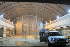 Fabric buildings for mining - spare parts storage