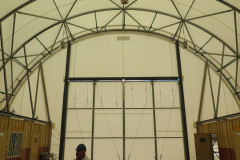 Internal view of fabric structure