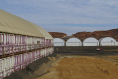 Fabric buildings for mining, Mount Isa Mines