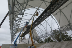Talison custom made fabric buildings for mining