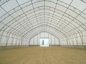 We source our quality extra large fabric structures from the US and Europe.