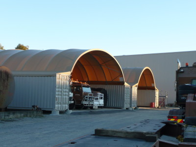 Container Mounted Shelter Systems at Salmon Earthmoving