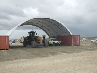 Fabric Buildings for Mining