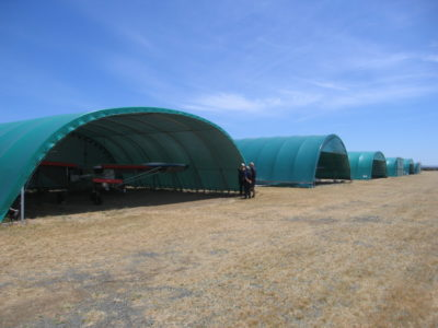 Fabric structure gallery - aircraft hangars